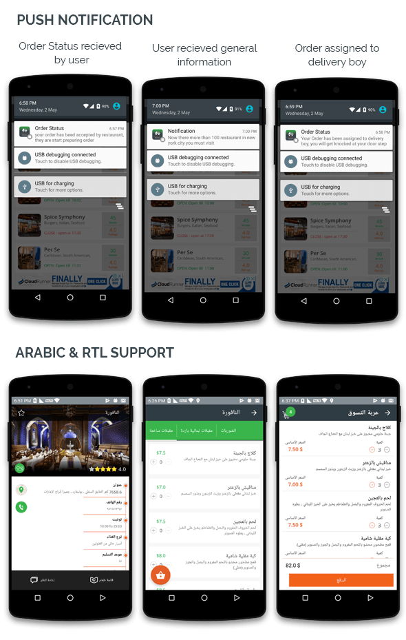 Food Delivery for multiple restaurant with delivery boy android application - 4