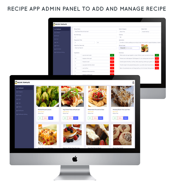 Food Recipe android app with add recipe by chef - 3