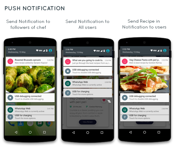 Food Recipe android app with add recipe by chef - 4